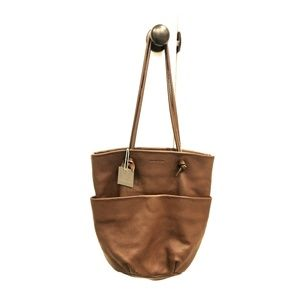 NWT Monserat de Lucca Chocolate Brown Tote